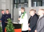 Schlüsselübergabe und Segnung des neuen Abfertigungsgebäudes (Quelle: Bundeswehr/Flugbereitschaft BMVg )
