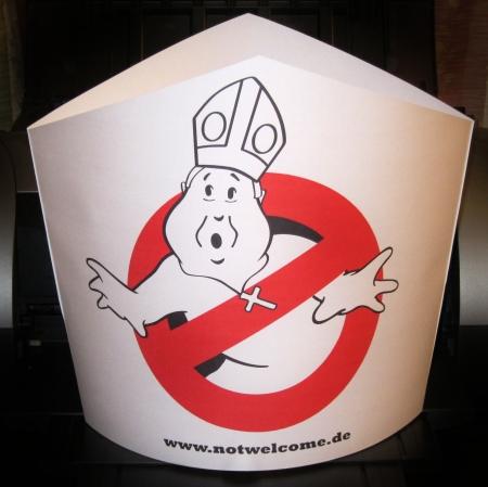 Papstmütze zum Selberbasteln