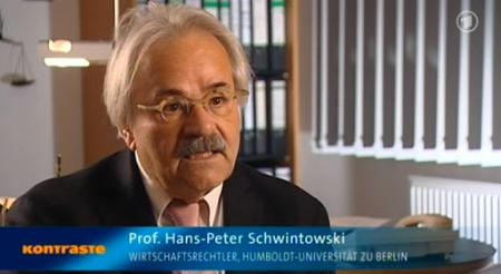 Prof. Schwintowski